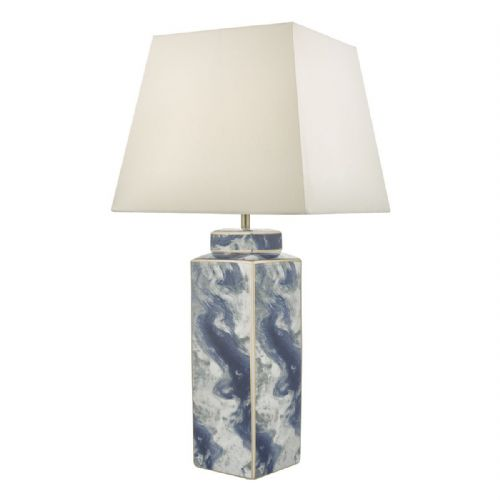 Loyce Table Lamp Blue & Ceramic Base Only LOY4223